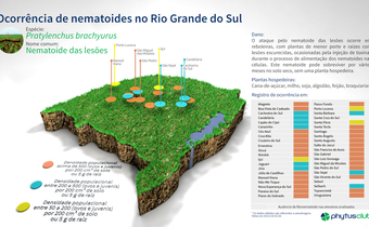 Ocorrência de nematoides no Rio Grande do Sul: <em>Pratylenchus</em>