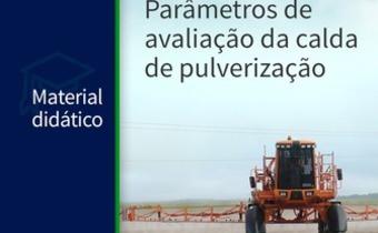 Parâmetros de avaliação da qualidade da calda de pulverização