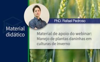 """Slides do webinar """"Manejo de plantas daninhas em culturas de inverno"""""""