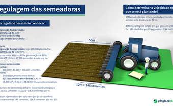 Você sabe como fazer a regulagem da semeadora?